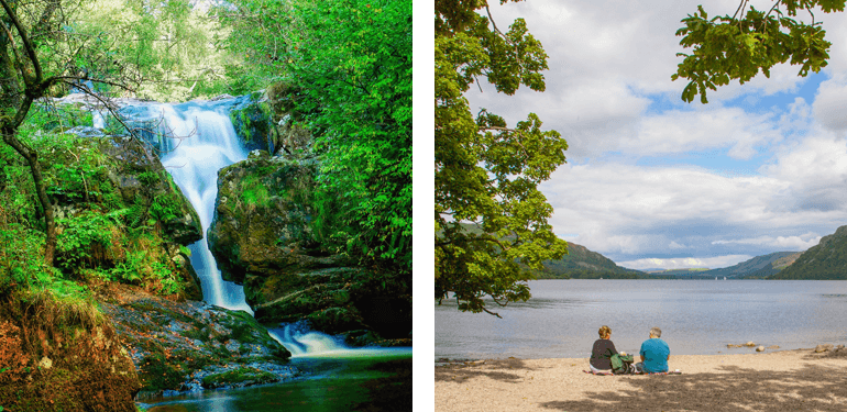 Aira Force and Ullswater