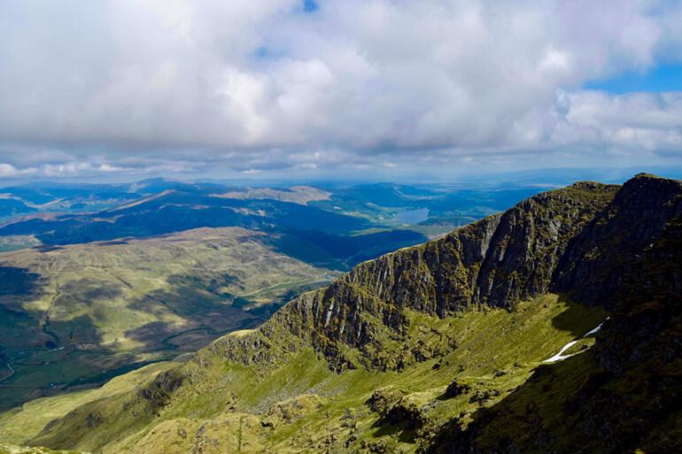 The impressive view from Ben Lomond