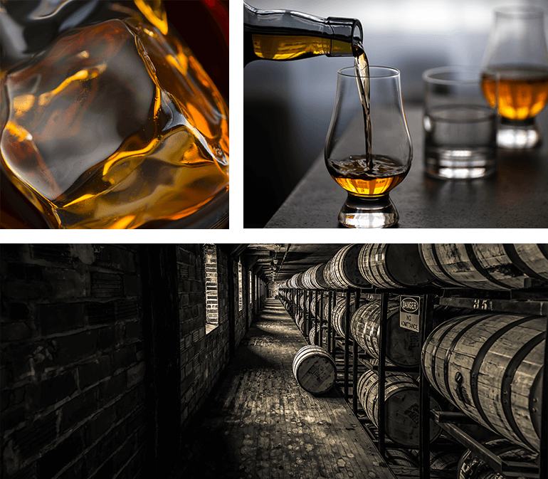 Have a tipple at a famous distillery