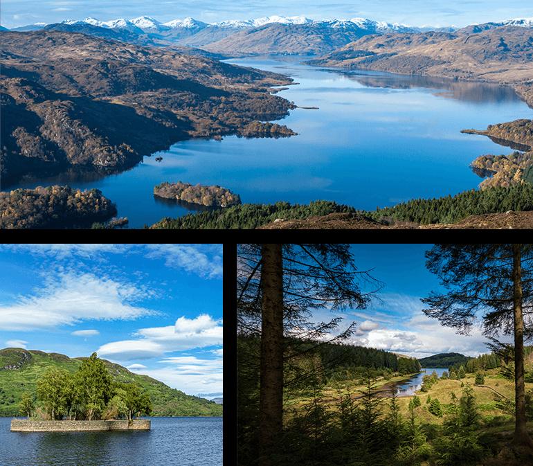 Serene Loch Katrine