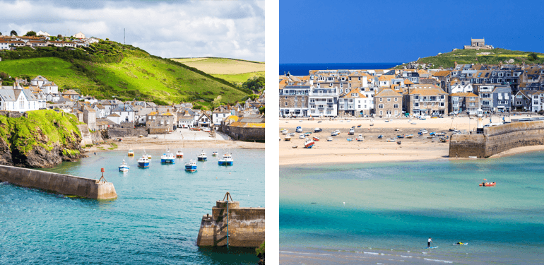 Port Isaac and St Ives