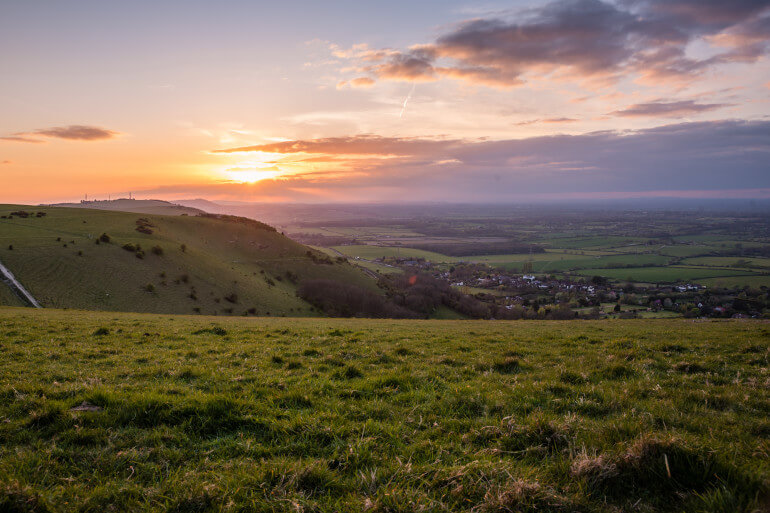 Devil's Dyke and Ditchling Beacon