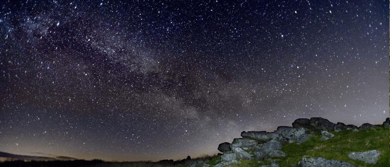 Brecon Beacons night sky