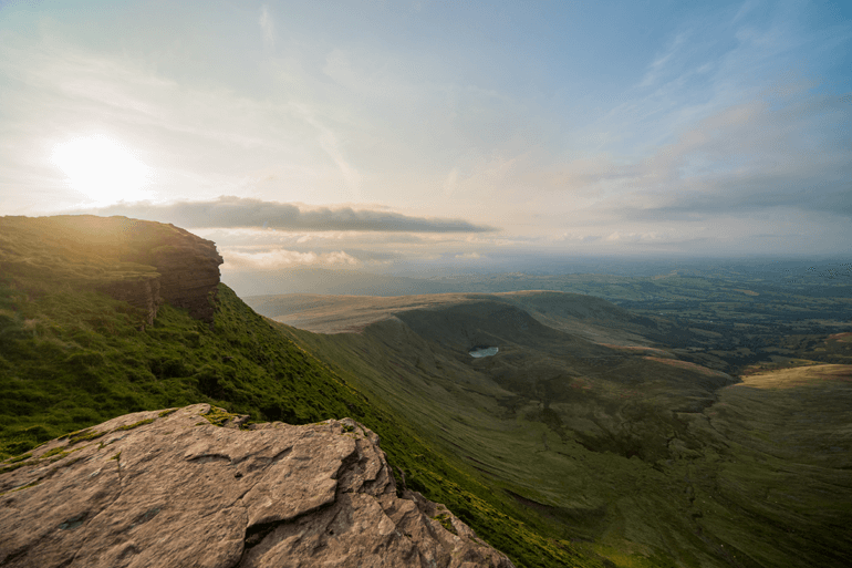 A view over the Brecon Beacons