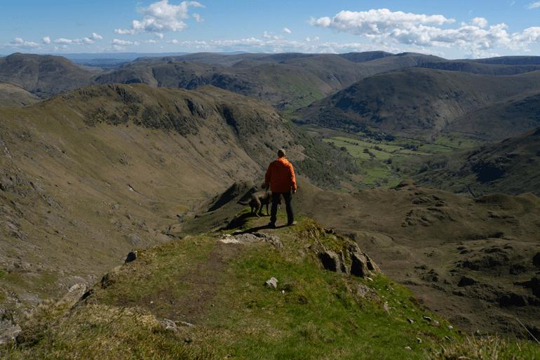 Dove Crag viewpoint