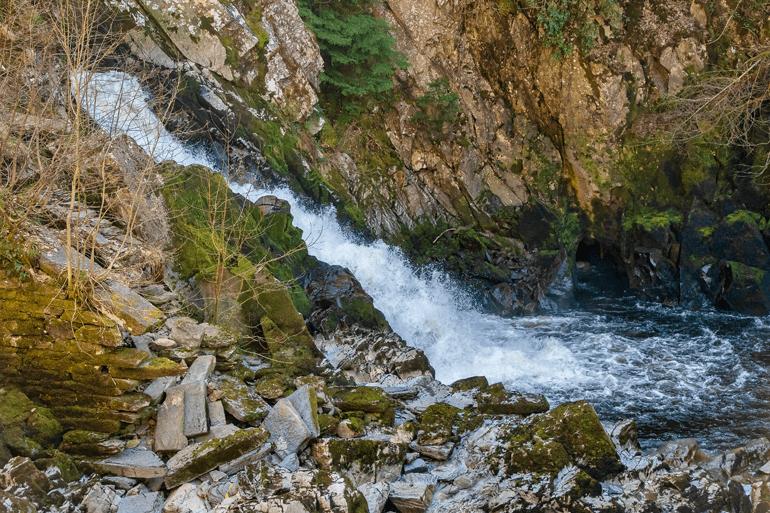 Conwy Falls near Go Below