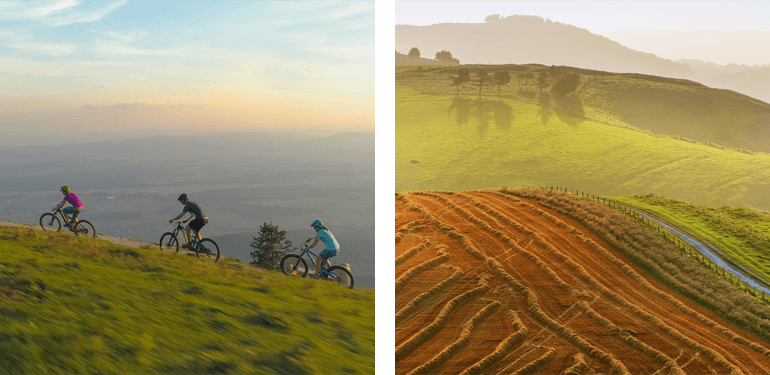 Mountain biking in the South Downs National Park
