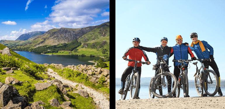 Mountain biking in the Lake District National Park