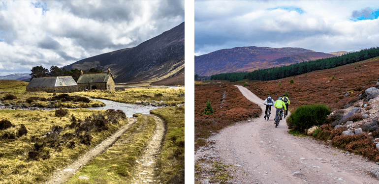 Mountain biking in the Cairngorms National Park