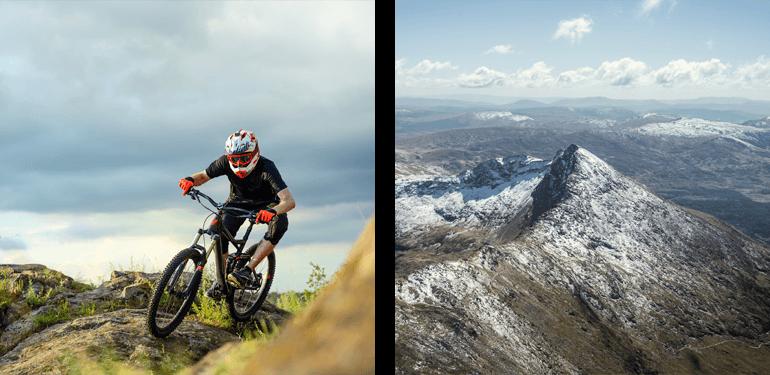 Mountain biking in Snowdonia National Park