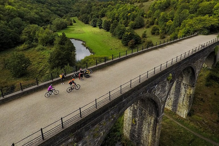 National park cycling