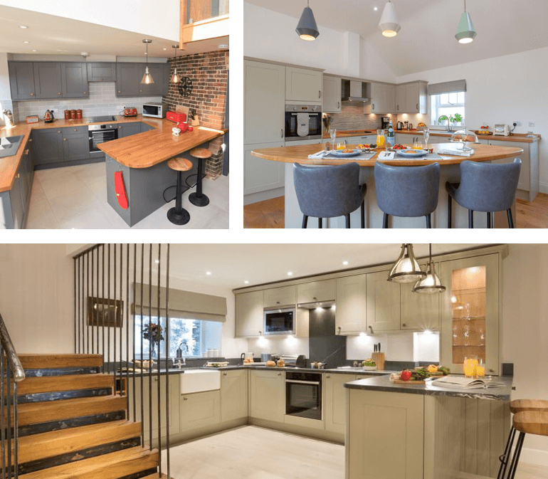 beautiful holiday cottage kitchens