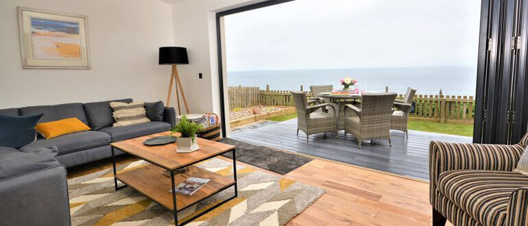 East Neuk by the Sea living room