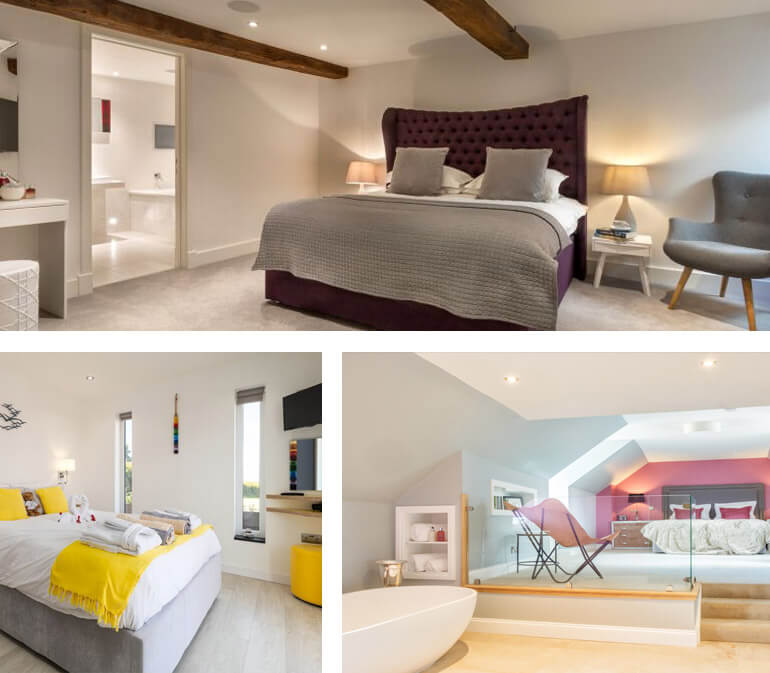 beautiful holiday cottage bedrooms