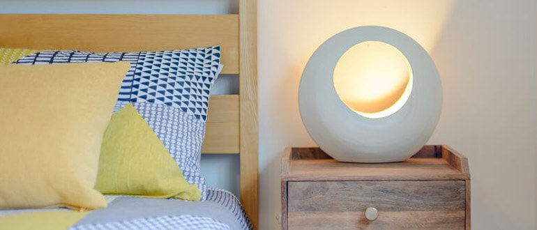 Stylish lighting can add a personal touch without being too personal!