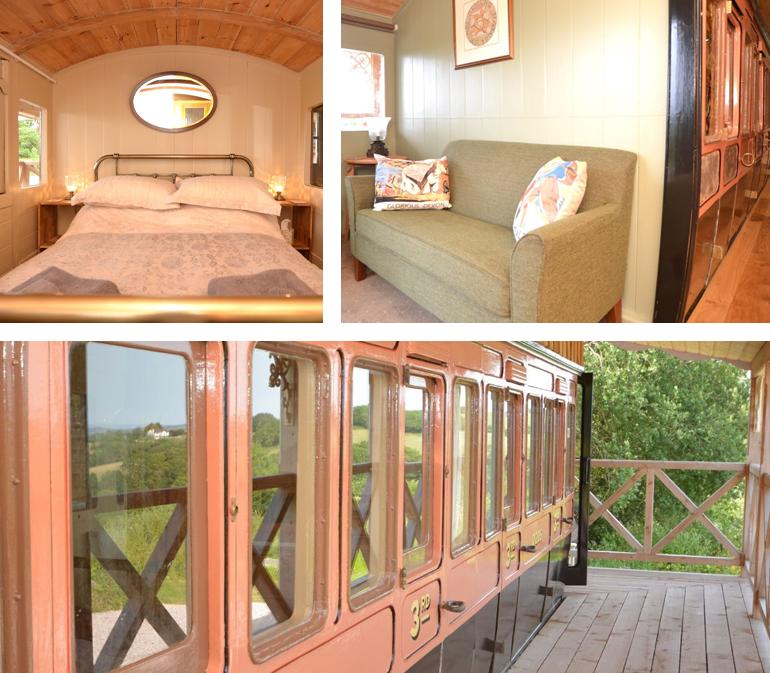 Three Hares Carriage, Devon | sleeps: 2 guests