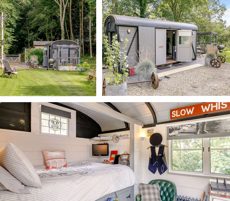 The Goods Wagon, North Yorkshire | sleeps: 2 guests