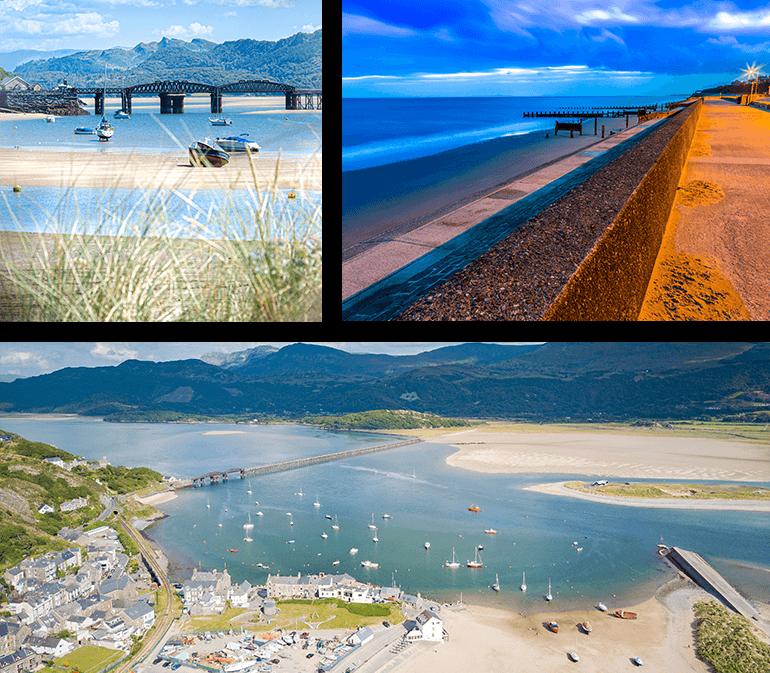 Barmouth Beach, Snowdonia