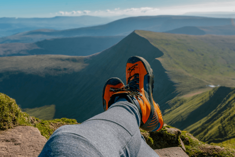 Walking in the Brecon Beacons