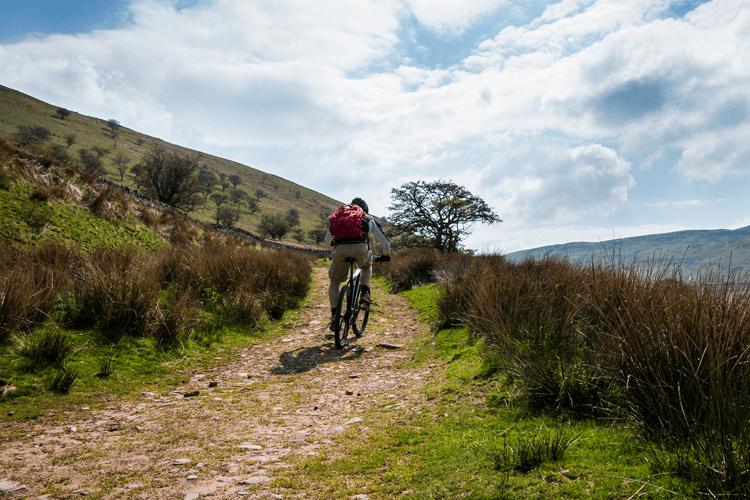Mountain biking in the Brecon Beacons