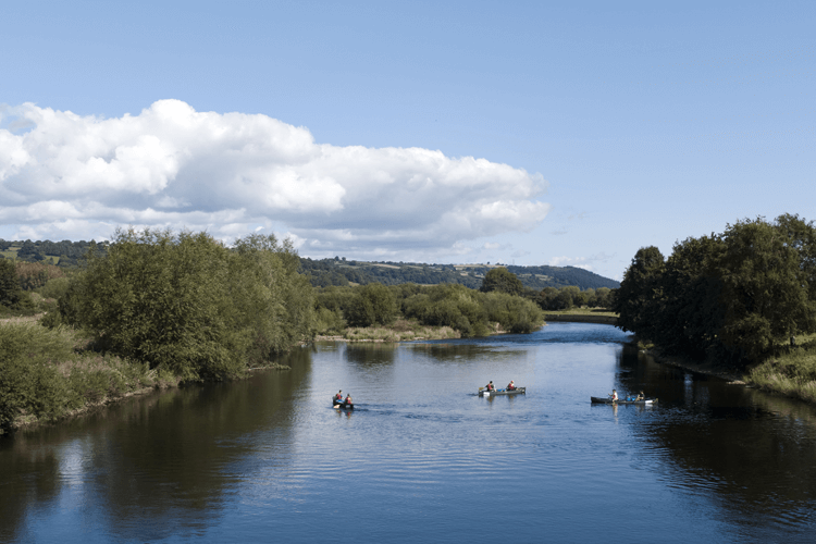 Kayaking in the Brecon Beacons