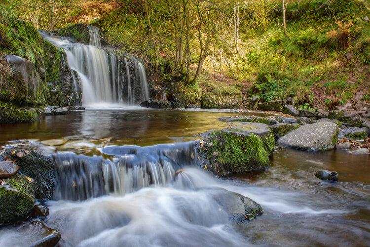 Caerfanell Falls | Blaen y Glyn waterfalls