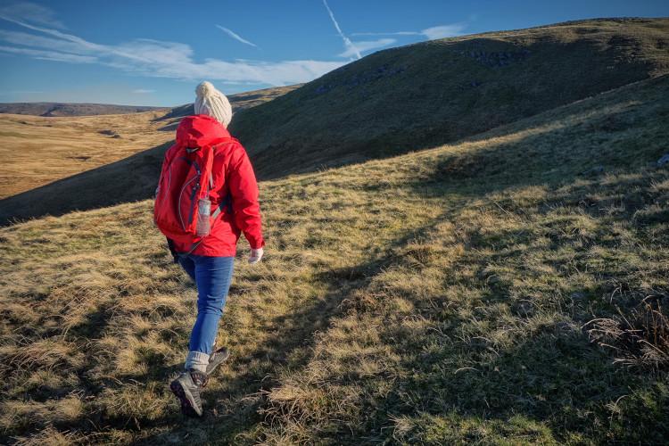 Mountain walking in Wales