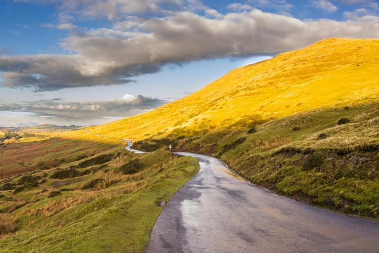 Brecon Beacons cycle routes - Gospel Pass