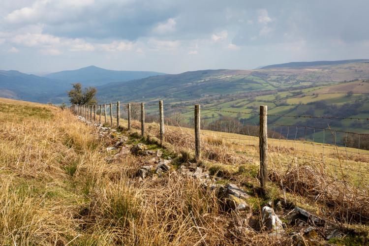 The Black Mountains - Brecon Beacons