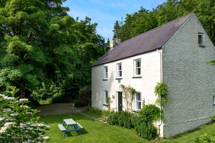 Secluded Brecon Beacons cottage