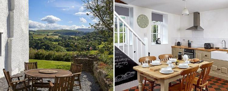Secluded Brecon Beacons cottages