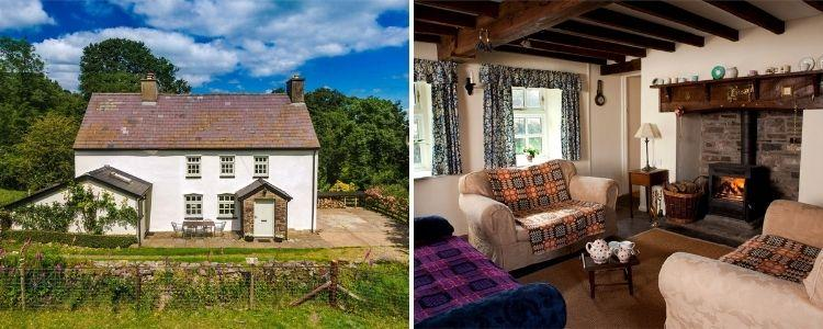 Remote Brecon Beacons cottages