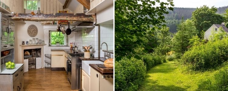 Remote cottage in the Brecon Beacons