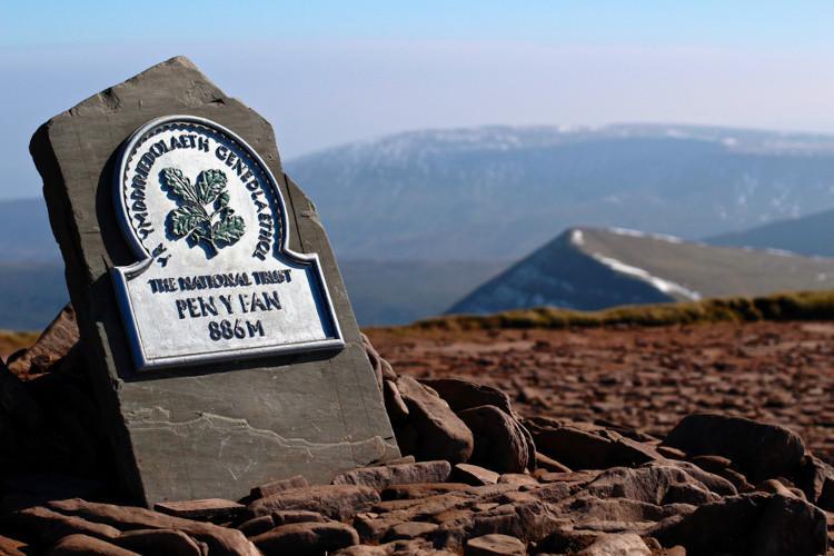Most popular UK mountains - Pen y Fan