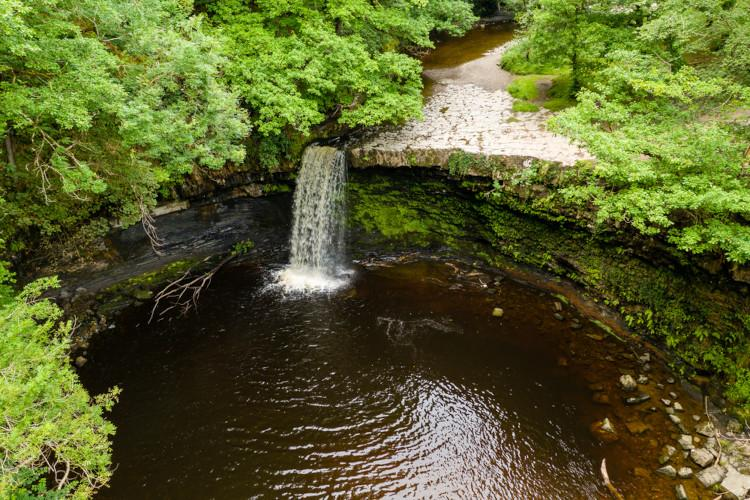 Wild swimming in the Brecon Beacons