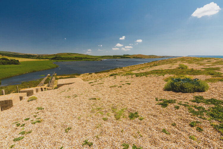 Abbotsbury Beach - Chesil Bank and Fleet Lagoon