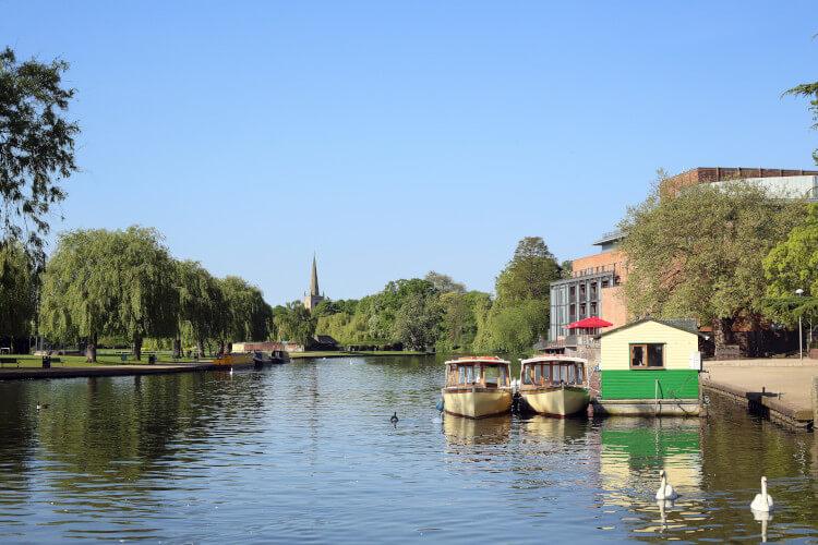 The River Avon in Stratford-upon-Avon