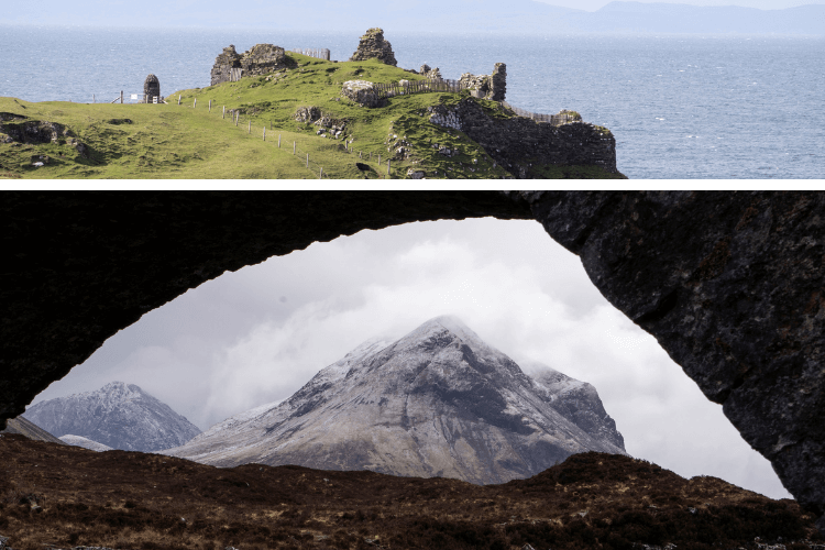 Majestic views from the Isle of Skye