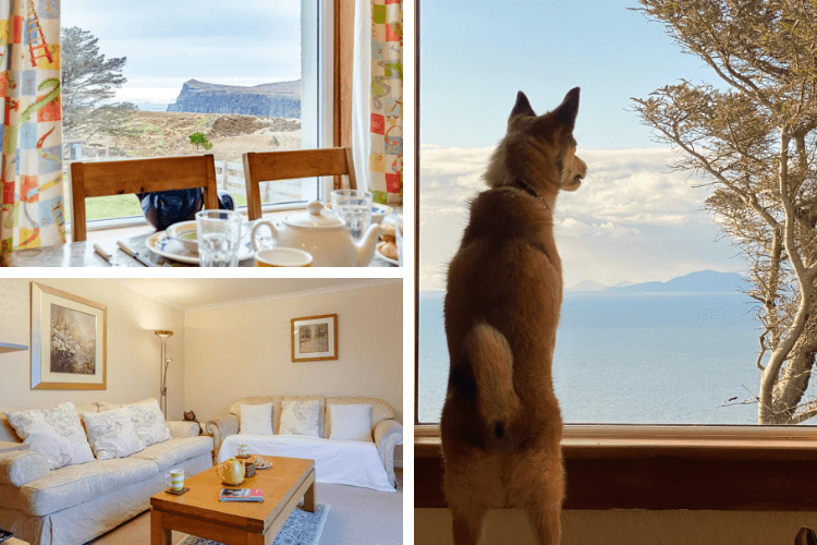 The views from Mandallagh Cottage's bright and airy rooms are stunning