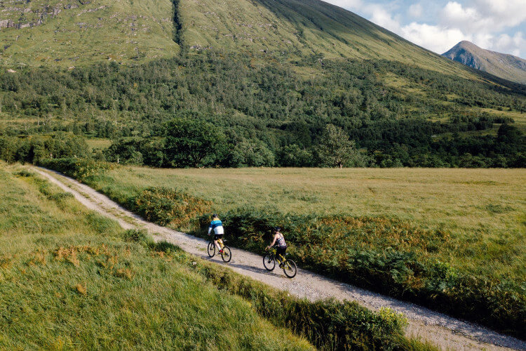 Cycling through the Highlands
