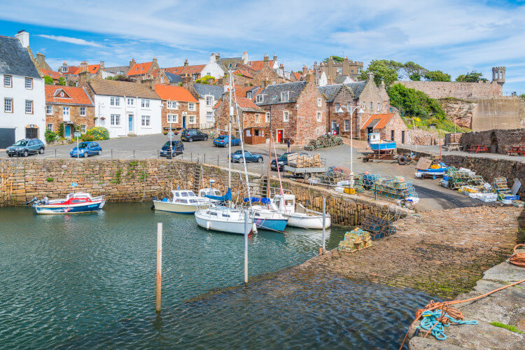 Crail in Fife, Scotland