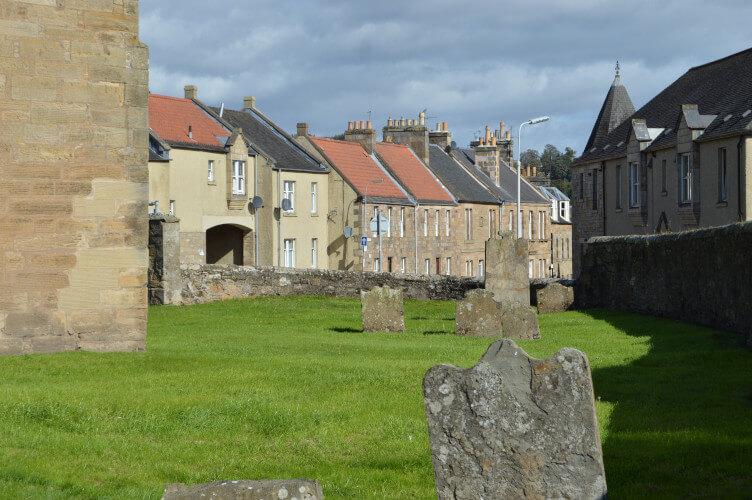 Cupar in Fife, Scotland