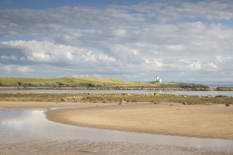 Visit a scottish beach in Fife, Scotland
