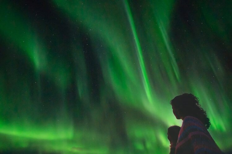 Experience the northern lights in Scotland