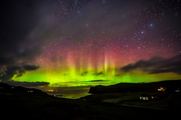 Head to Skye and experience the northern lights