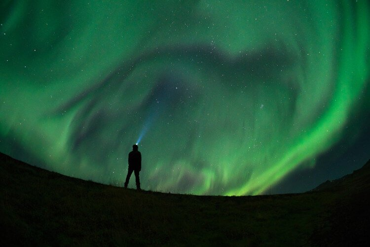 Find a dark sky zone in Moray and see the northern lights