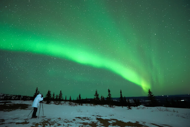 See the northern lights in the Cairngorms, Scotland