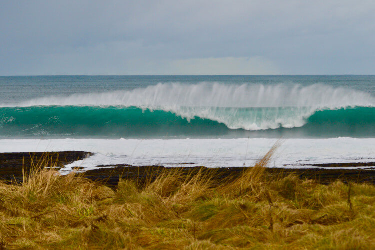 Thurso is classed as the best spot for surfing in Scotland
