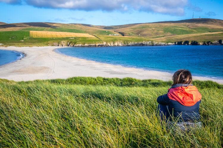 St Ninians Isle, Shetland, Scotland