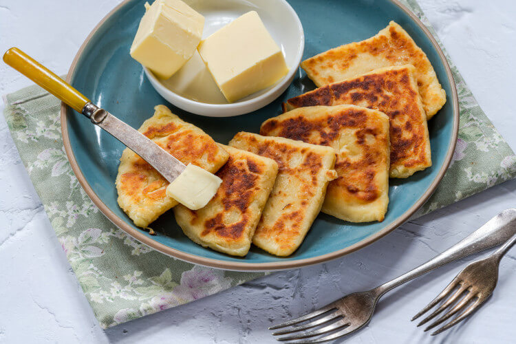 Tattie scones can make for a delicious snack or a yummy addition to a full cooked breakfast.